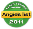 Angies List Super Service Award 2011